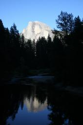 Half Dome in the evening