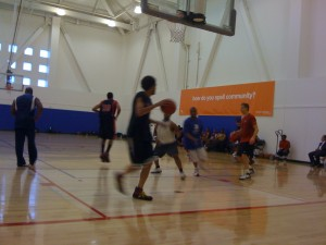 Basketball at Bakar Gym at Mission Bay (UCSF)