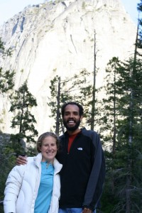 Us at the top of vernal falls